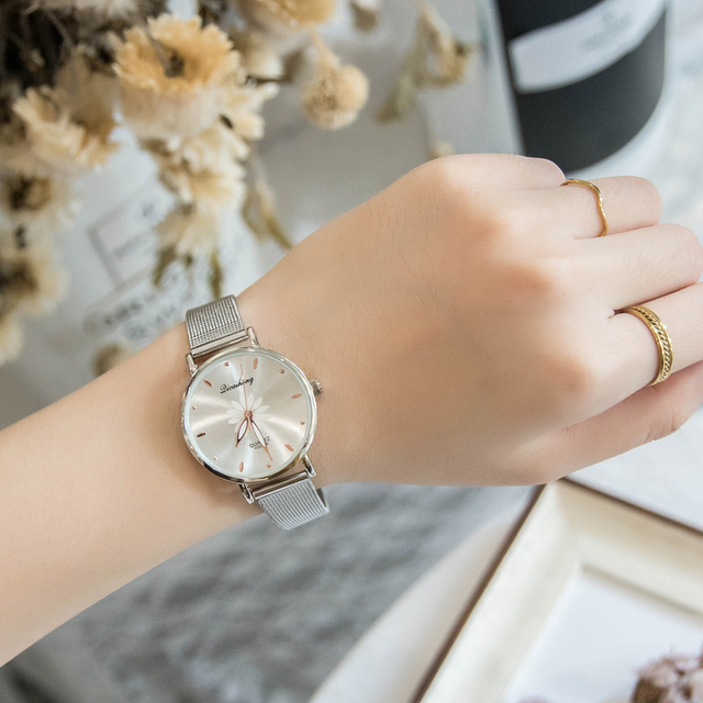 Watches Women Luxury Metal Belt Ladies Bracelet Watches For Women Fashion Simple Desgin Quartz Women's Wristwatch 2018 New Gift