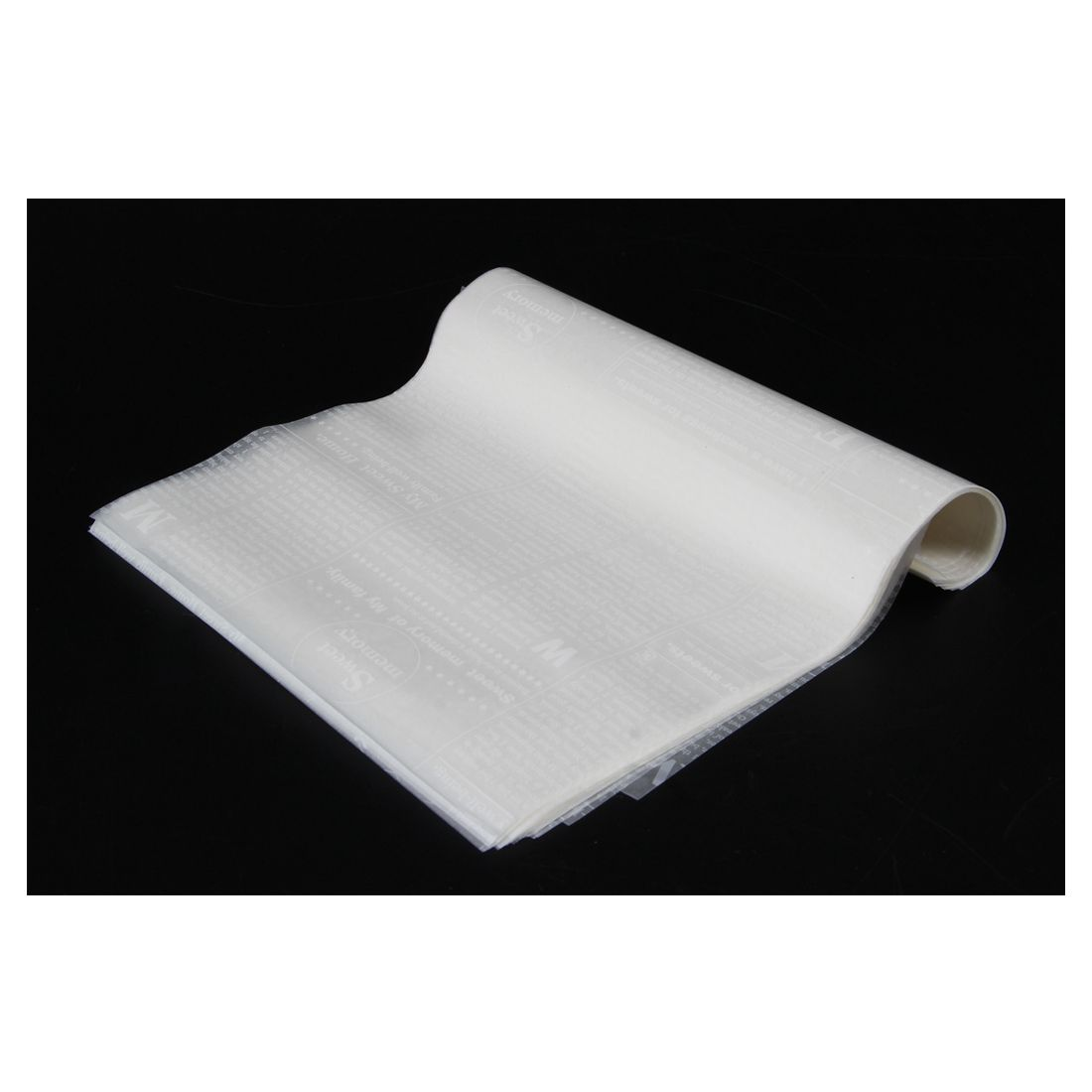 Wax Paper, Food Wrapping Paper, Greaseproof Baking Paper, Soap Packaging Paper (White letter)
