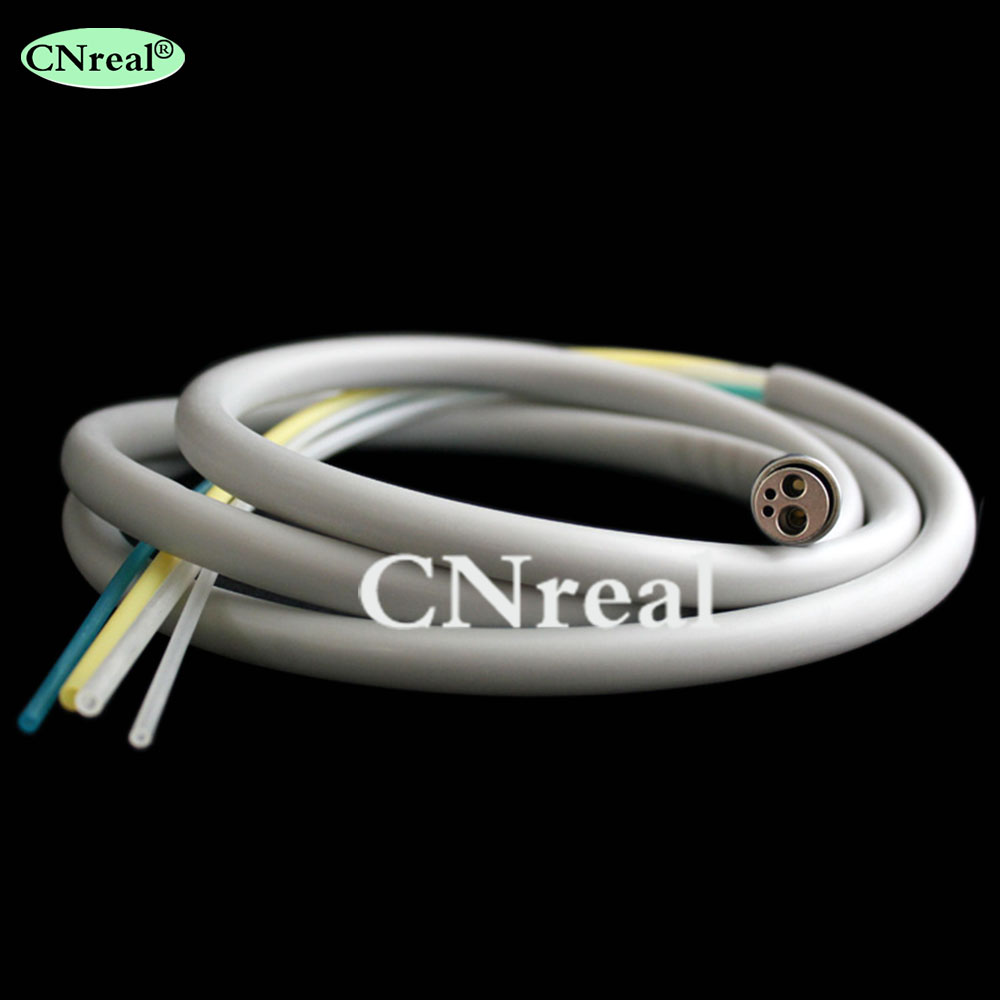 1 piece Dental Handpiece Hose 4 hole Tube Connector Dentist Lab Equipment Device Instrument in Teeth Whitening from Beauty Health
