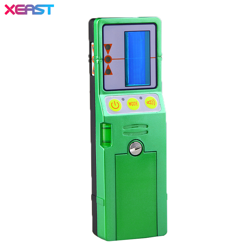 XEAST Outdoor mode laser level available red and green beam cross line laser receiver detector with Clamp high quality southern laser cast line instrument marking device 4lines ml313 the laser level
