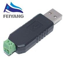 Adaptateur de convertisseur USB à RS485 485, 10 pièces, compatible avec Win7 XP Vista Linux Mac OS WinCE5.0