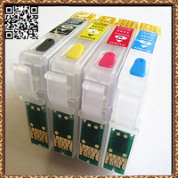 4Pcs For Epson T1281 T1282 T1283 T1284 For Epson T1285 Refillable Ink Cartridge For Epson Stylus