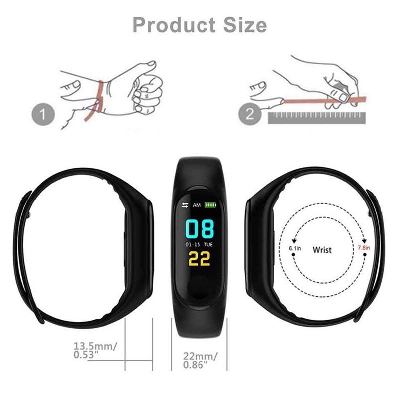Budget Fitness Tracker Android Smart Watch 17