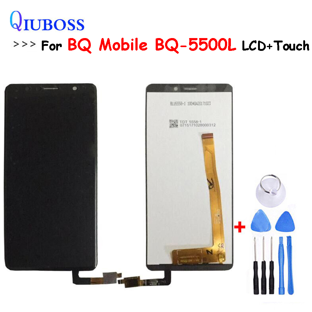 For BQ Mobile BQ-5500L LCD Display+Touch Screen Assembly Repair Parts Replacement Accessories For BQ-5500L Advance lcdFor BQ Mobile BQ-5500L LCD Display+Touch Screen Assembly Repair Parts Replacement Accessories For BQ-5500L Advance lcd