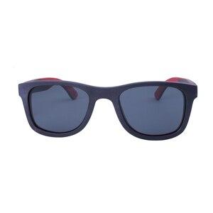 Image 5 - BerWer 2020 men wood Sunglasses New Polarized women black Skateboard Wood sunGlasses wooden Eyewear