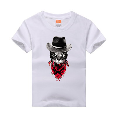 New Design Cat Dog Print Modal T shirt For Girl Boy Animal T-Shirts for  Children Baby Kids Clothing 100% Cotton Tops Tees 2-12Y 06f5904eb339