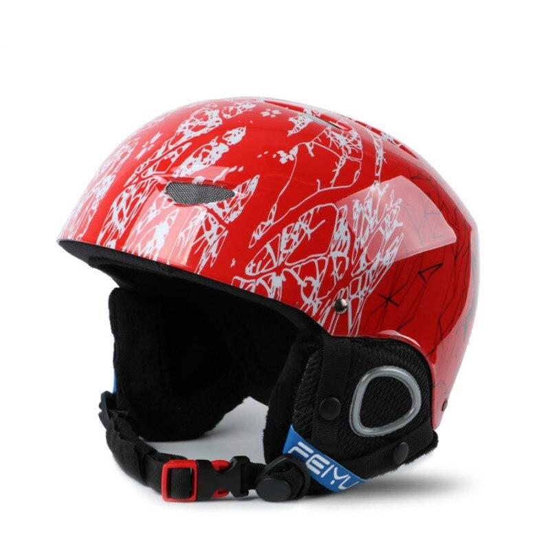 Casques de Ski professionnels pour enfants casque de Snowboard moulé intégralement casque de sport de Ski pour garçons et filles