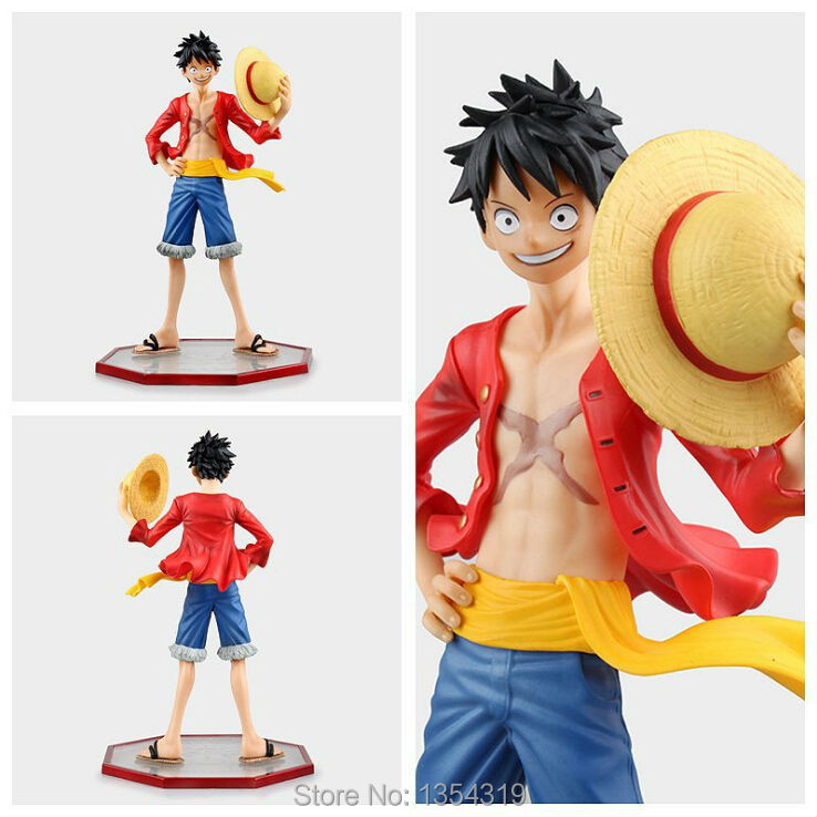 Action Figure One piece luffy Series vinyl POP2.0 onepiece Straw Hat PVC 24cm Monkey D Luffy figurine Collectible Model Anime