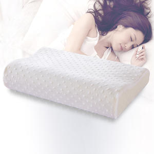 Pillow Latex Memory-Foam Cervical-Health-Care Soft Rebound Fiber Slow Neck for 4-Sizes