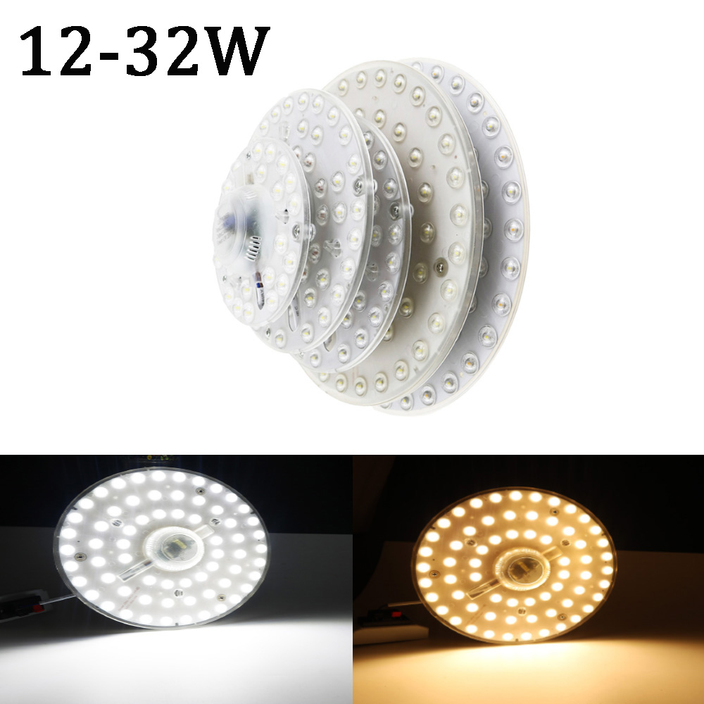 <font><b>LED</b></font> ceiling light module DIY <font><b>Led</b></font> Lamps tool 12W <font><b>18W</b></font> 24W 32W <font><b>2835</b></font> SMD Chip AC220V indoor lighting Home installation Warm White TW image