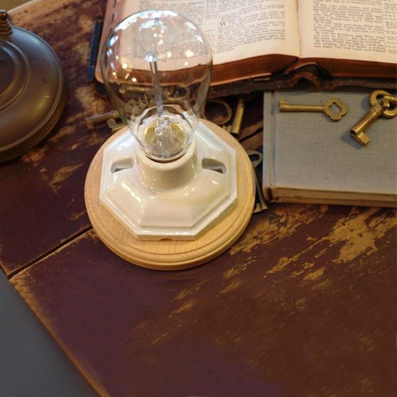 Vintage Tischlampe Dimmbare Schreibtischlampe Für Schlafzimmer - Innenbeleuchtung - Foto 5