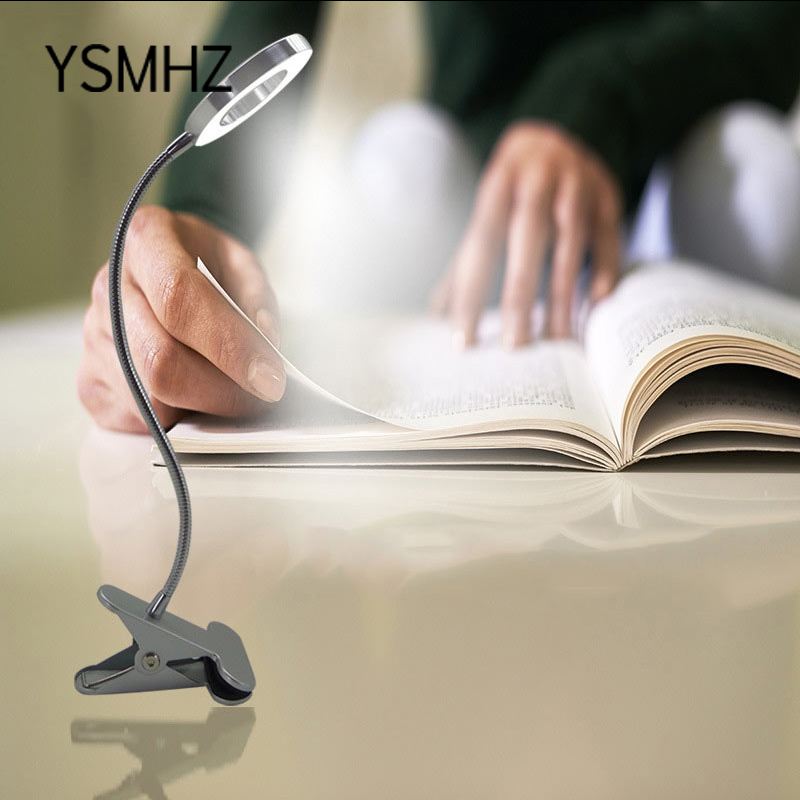 YSMHZ LED Eyebrow Lamp Table Lamp USB Eyelash Extension Shadowless Adjustable Light Warm Light Beauty Table Lamp With Clip
