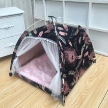 Soft and warm pet nest bracket tent comfortable kennel easy to clean mezzanine cotton dog