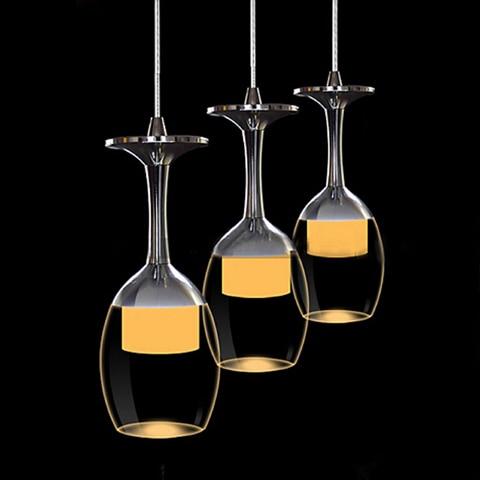 goblet chandeliers Organic acrylic 3 lightgoblet chandeliers Organic acrylic 3 light