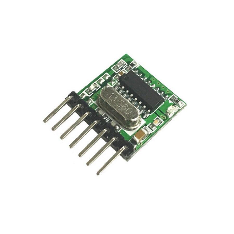 dhl or fedex 200pcs 433 Mhz Superheterodyne RF wireless transmitter module 1527 Encoding EV1527 Code wide