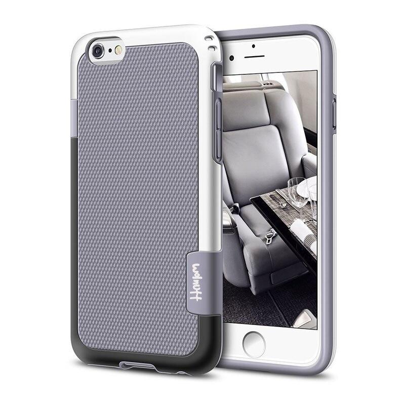 Противоударный Гибридный Силиконовый противоударный чехол для funda iPhone 6S 7Plus 7 8 Plus Xs Max XR Противоскользящий чехол для iPhone 11 Pro Max - Цвет: Gray