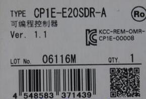 CP1E E20SDR A
