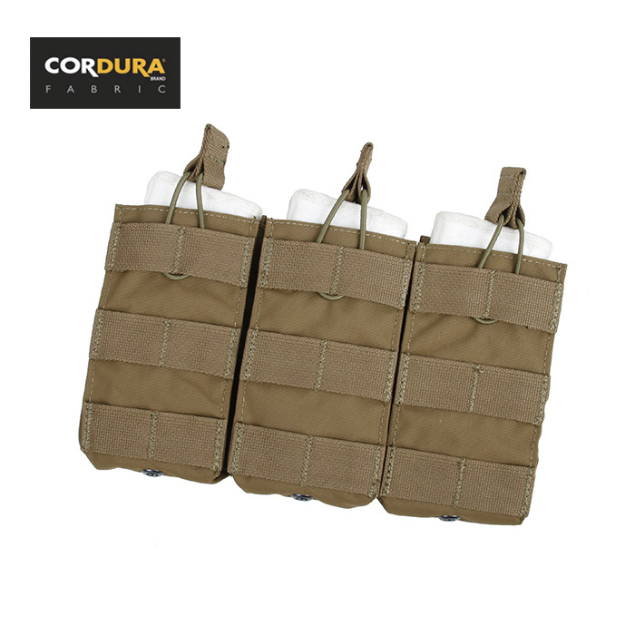 Knowledgeable Tmc Triple 5.56 Open Top Cordura Molle Magazine Pouch Coyote Brown(sku051065) Pure And Mild Flavor