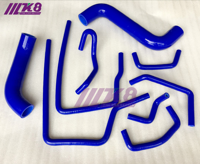 Blue Silicone Inlet Intake Hose for 2004-2008 Subaru Forester XT 2.5 Turbo EJ255