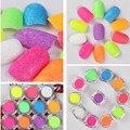 1 Box Shinning Nail Sandy Powder Manicure Nail Art Glitter Powder 11 Candy Colors Nail Decoration