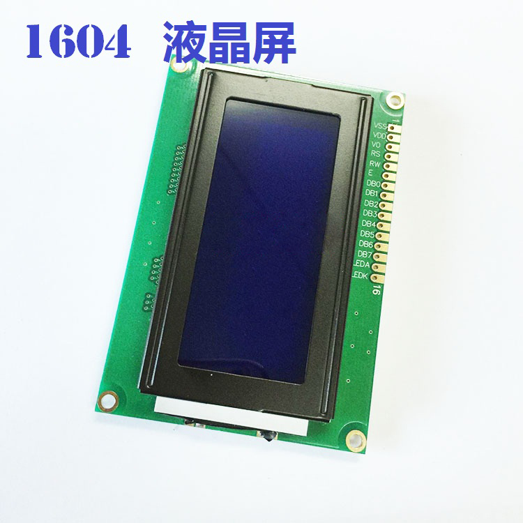 LCD 16x4 1604 Character LCD Display Module LCM Blue Blacklight 5V