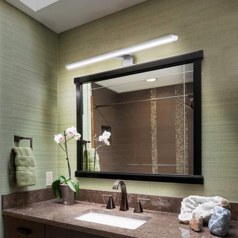 prova d800agua interior led espelho lampada parede
