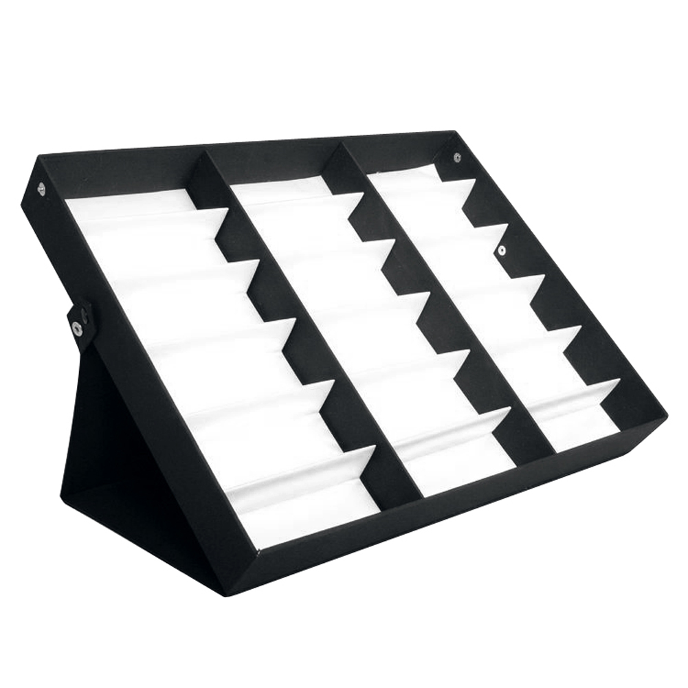 18 Grid Sunglasses Glasses Display Stand Storage Box Tray Case Stand CaseTray Black Sunglasses Eye Wear Display Watch Box