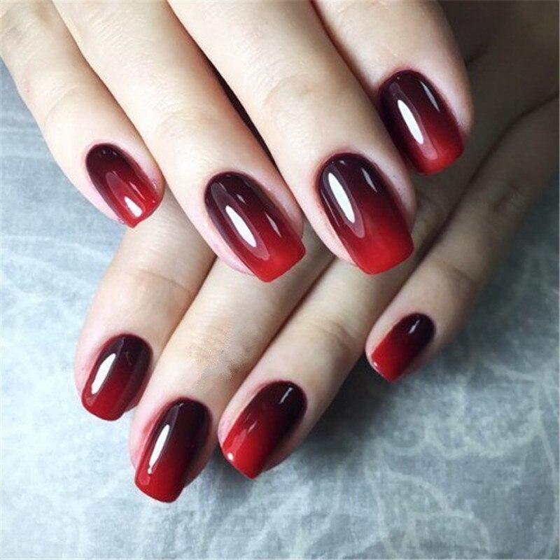 Ys 8ml Mood Changing Gel Nail Polish Long Lasting Soak Off Led Uv