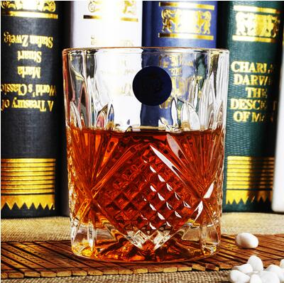 6PCS Whiskey Glass Cups High Capacity Beer Glass Wine Cup Bar whiskey glass champagne flutes Lead free Crystal Cups 50JB018 in Brandy Snifters from Home Garden