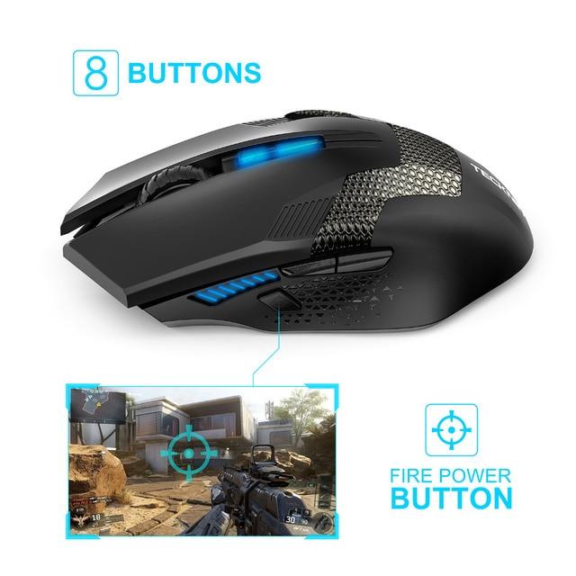 TeckNet Ergonomic Wireless Gaming Mouse 1