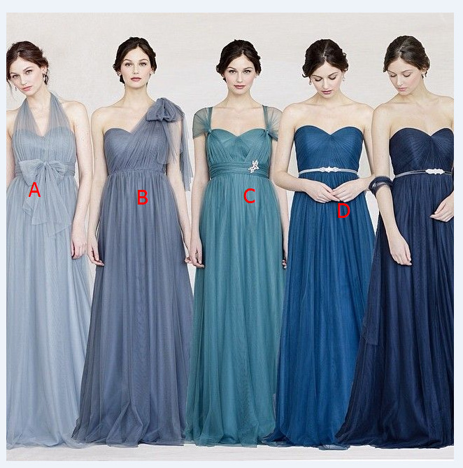 FM New Fashion Custom Size!2016 New Variety to wear Convertible Dresses long bridesmaid dress Multicolor wedding dress, Prom party dress women