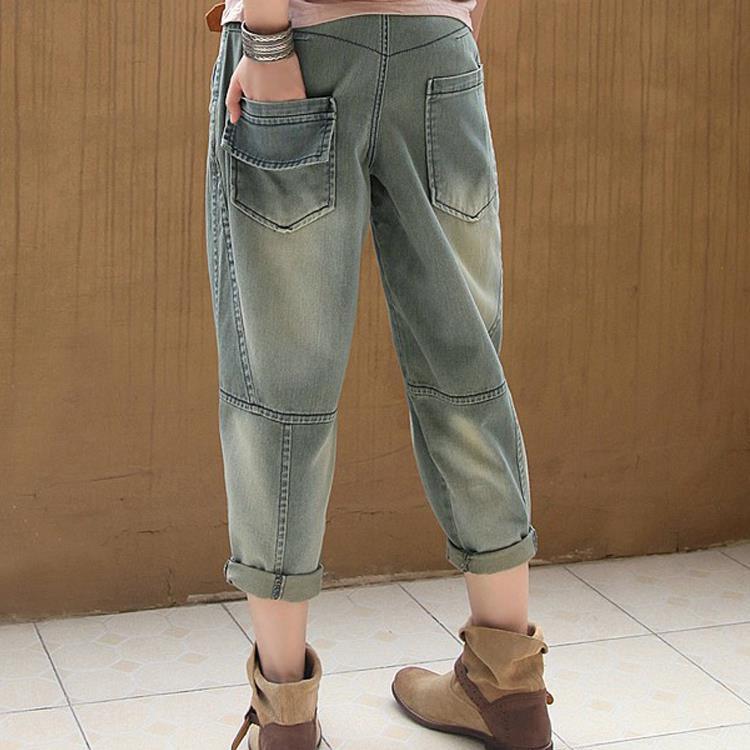 Mode Denim Boyfriend E757 La Lâche 2019 Plus De Casual Coton Femmes Harem Ressort Vintage Vaqueros Taille Pantalon Jeans x7UqAvwU