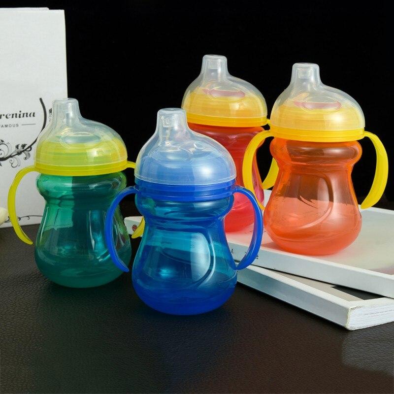Flaschenzuführung Baby Fütterung Flaschen Tassen Für Babys Kinder Wasser Milch Flasche Weichen Mund Entenschnabel Sippy Baby Fütterung Flasche Infant Ausbildung