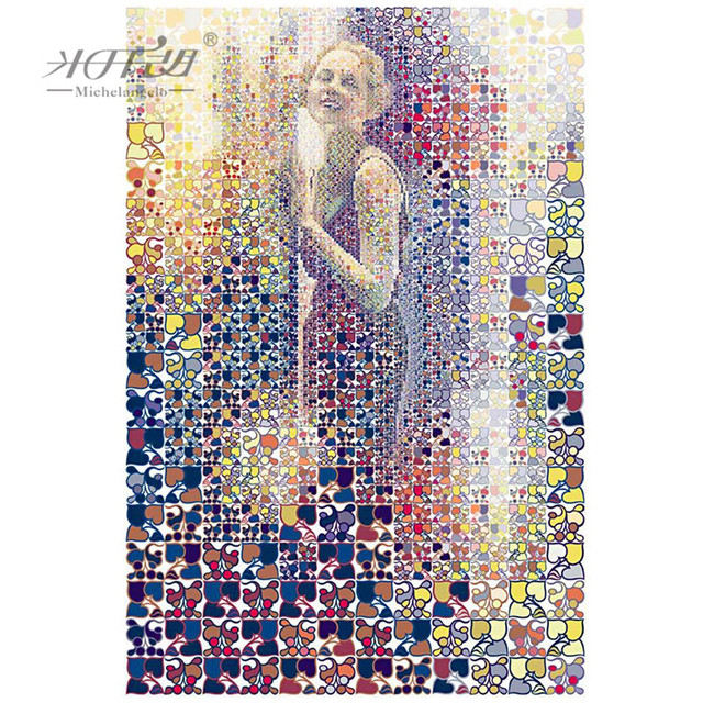 Michelangelo Wooden Jigsaw Puzzles 500 1000 Pieces Mosaic Beauty Educational Toy Game Decorative Wall Painting Gift Home Decor