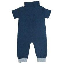 Cowboy One – Pieces Toddler Fashion Clothes Unisex Baby Romper Body Suit Jumpsuits Infant Denim Jump Suit Coveralls With Zipper