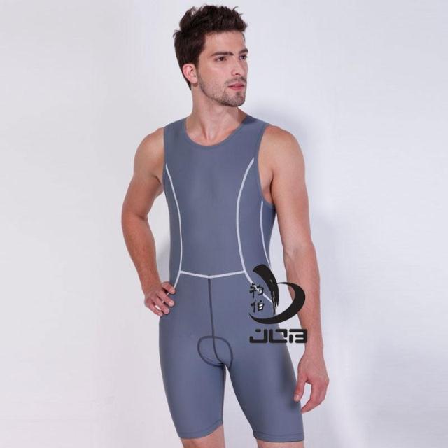 Job mens one piece professional swimwear athletic Ironman triathlon swimsuit running wear mens tri suit triathlon suit
