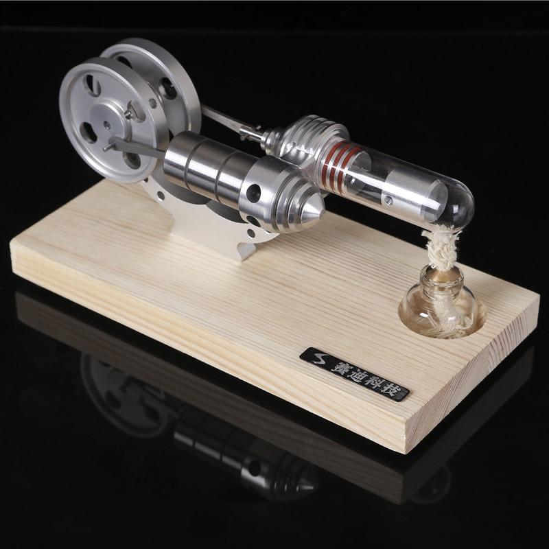 M14-04/05/06-S Stirling Engine Motor Model Mini Generator External Combustion Engine Educational Toy Kits цены онлайн
