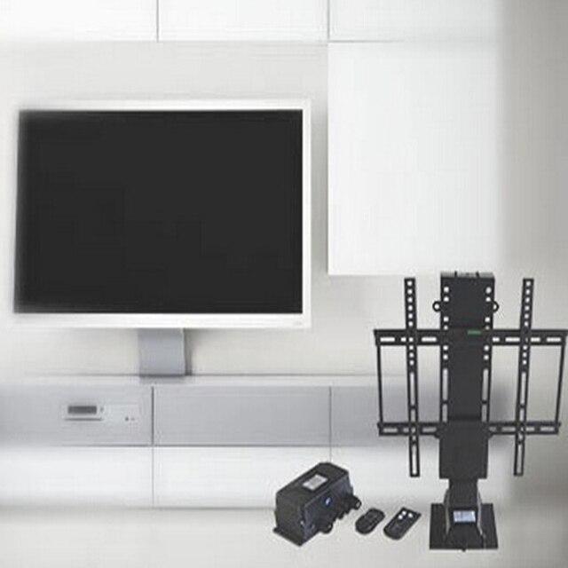 357 01 2017 Electrique Automatique Tv De Levage Avec Sans Fil Telecommande Tv Stand Salon Meubles Automatique Cache Tv Stand Dans Projecteur