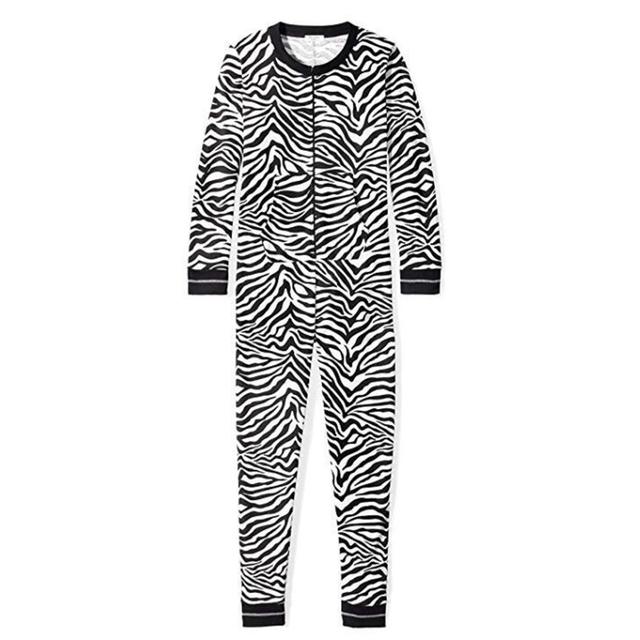 Zebra Hooded Onesie Women – 21JS