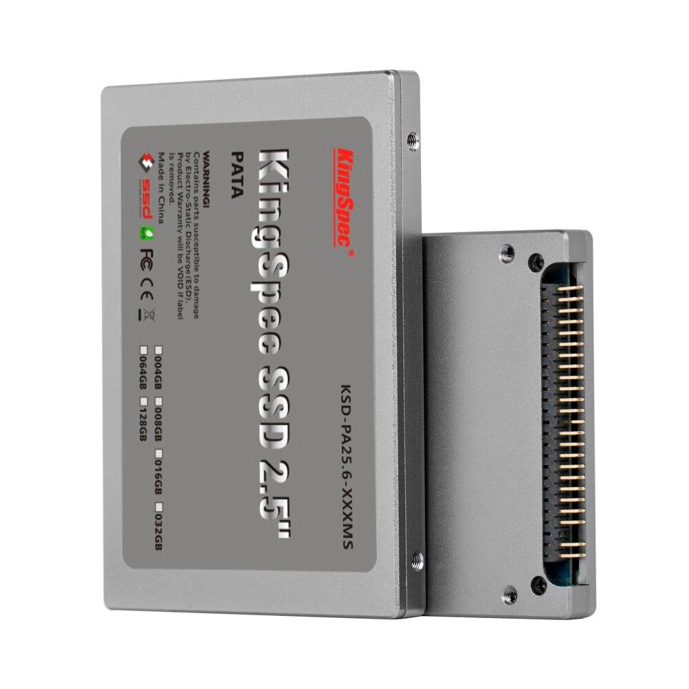 Kingspec 2 5 inch PATA 44pin IDE hd font b ssd b font 16GB 32GB 64GB