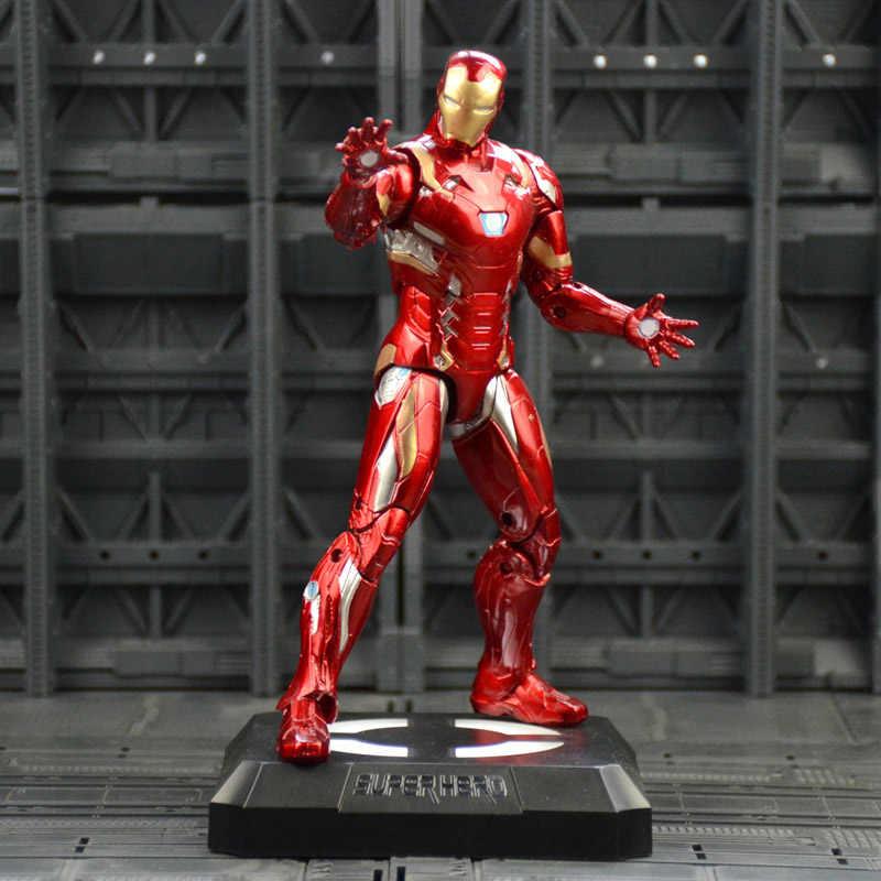 Железный человек Капитан Америка черный пантера, зимний солдат человек-муравей Сокол Алая ведьма видения Hawkeye фигурку модель игрушки N033