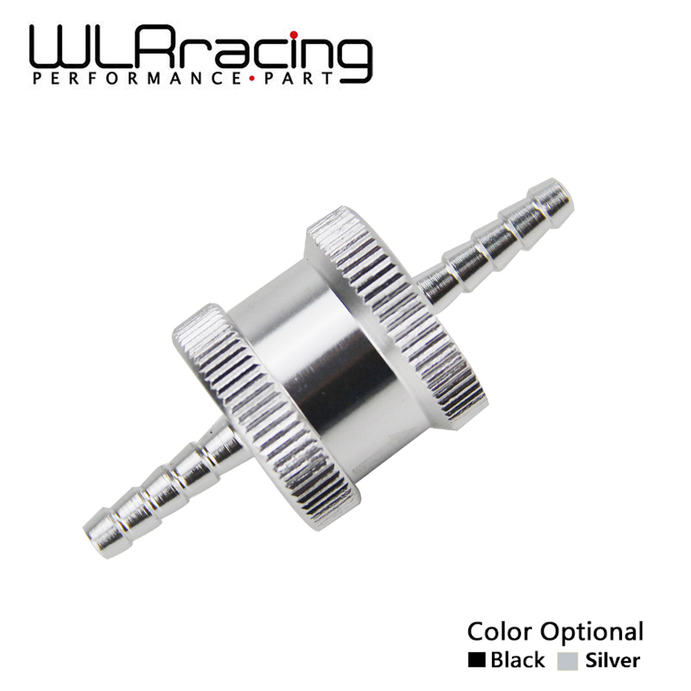 WLR RACING - 1/8 4mm Non Return One Way Fuel Check Valve Aluminium Alloy Petrol Diesel WLR-FCV04