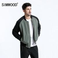 SIMWOOD Brand Short Jacket Men 2018 Winter Fashion Thick Coats Bomber Jacket Slim Plus Size Outerwear jaqueta masculina 180557