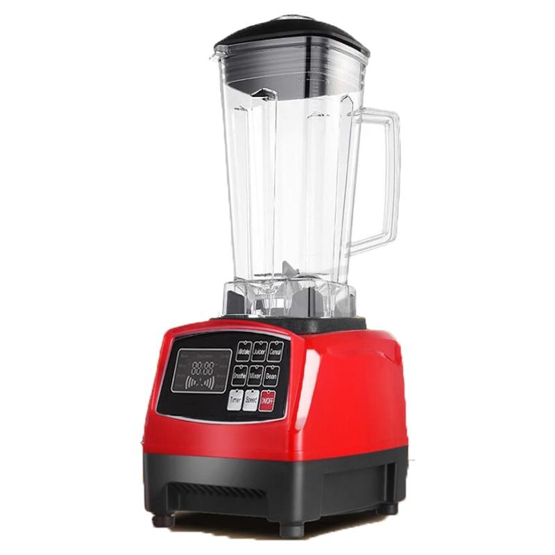 Automatic Digital Smart Timer Program 2200W Heavy Duty Power Blender Mixer Juicer Food Processor Ice Smoothie Bar Fruit