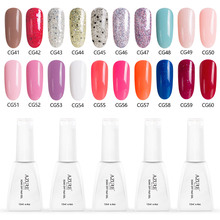 Azure Beauty UV Nail Gel Polish 119 Colors Semi Permanent Led Gel Nail Varnish Soak Off Glitter Nail Art UV Gel Enamel