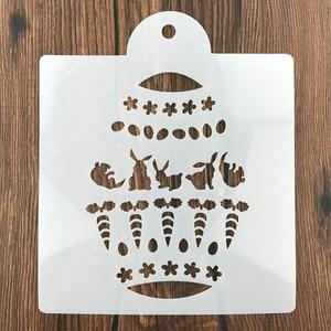 Image 4 - Boże narodzenie Tiramisu ciasto wzornik formy dekoracji formy do pieczenia malowanie ścian Album tłoczenie DIY Craft narzędzie
