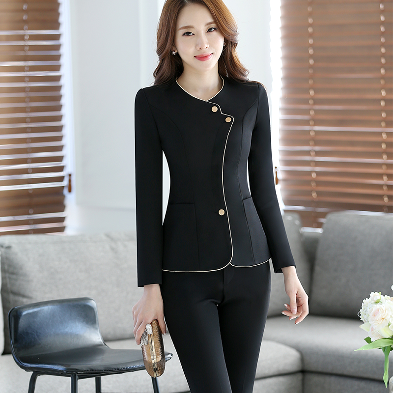 Popular Two Piece Blazer Pants Suit Women-Buy Cheap Two Piece ...
