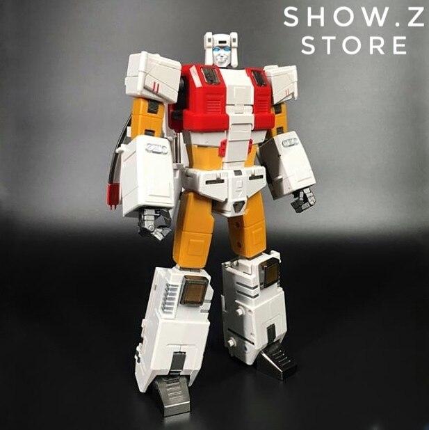[Mostrar. Z Store] Zeta Brinquedos ZB-03 ZB03 Silver Arrow Silverbolt Aerialbots Transformação Figura de Ação