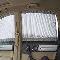 50 S 50x37 cm Universal Parasol Coche Cortina de La Ventana Cortinas de Protección Solar UV de Protección Ajustable Gris