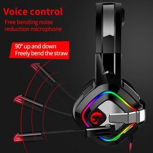 Image 5 - PS4 casque de jeu 4D stéréo RGB chapiteau écouteurs casque avec Microphone pour nouveau Xbox One/ordinateur portable/ordinateur tablette Gamer